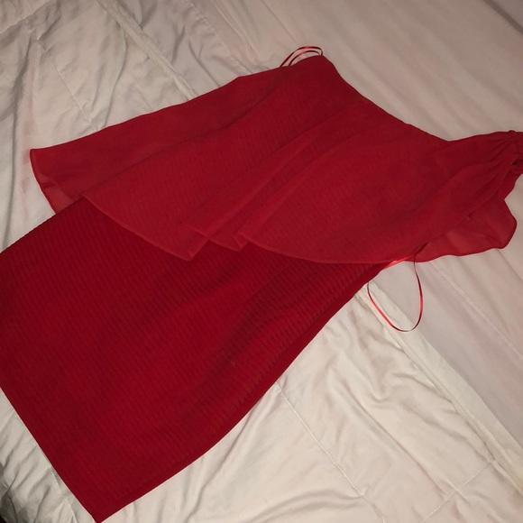 Gianni Bini Dresses & Skirts - 🔥NWT GIANNI BINI One should red fitted dresses